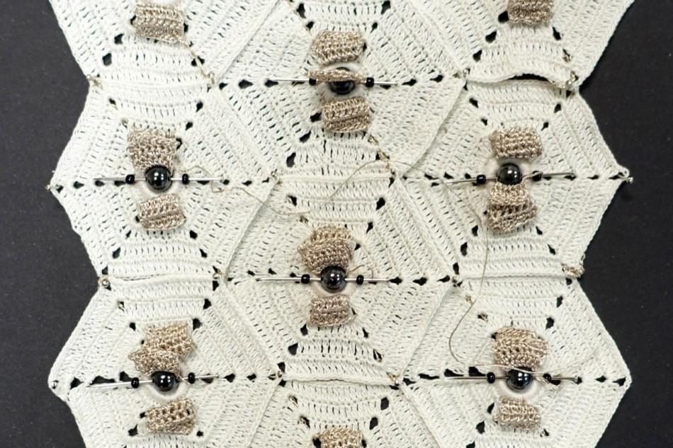 Crochet ALU, close up