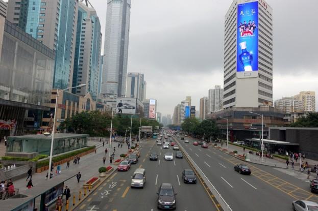 Shenzhen, Shennan Bouelvard