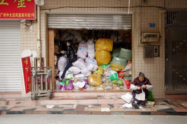 Guangzhou, fabric market