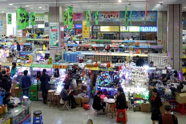 Shenzhen, electronic market