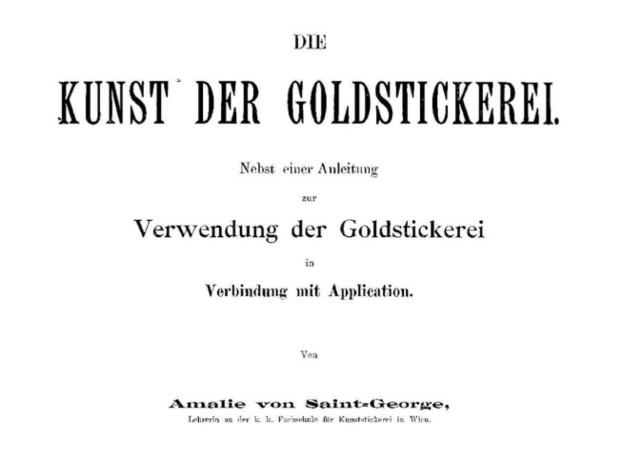 Goldstickerei