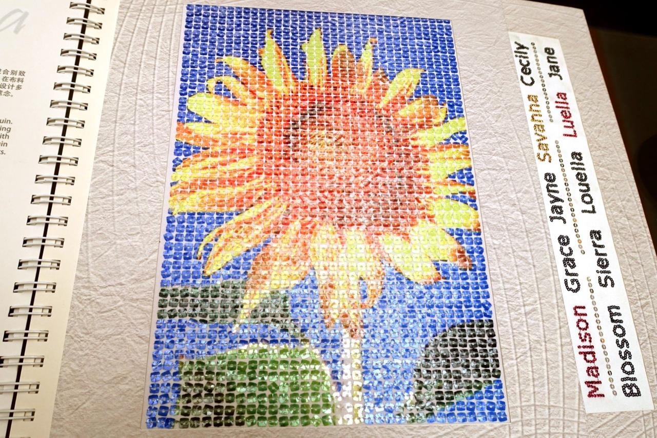 Tajima embroidery machines stitching worlds